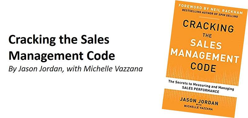 Cracking Sales Mgmt Code book