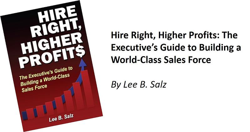 Hire Right Higher Profits book and title for newsletter